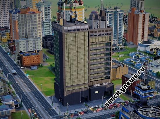Башня Ву в SimCity