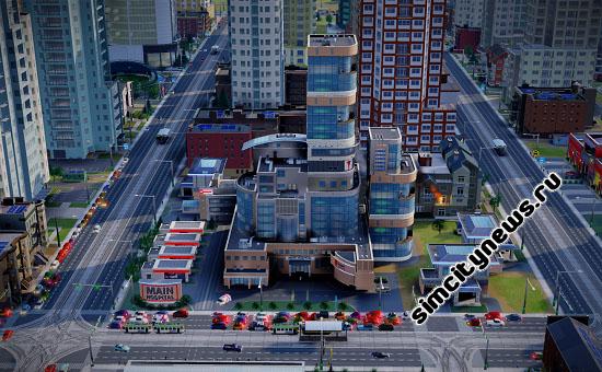 Больница в SimCity