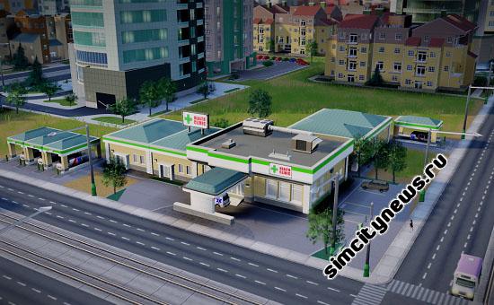 Клиника SimCity 2013