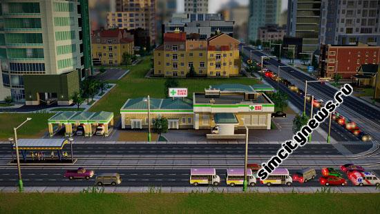 Клиника SimCity