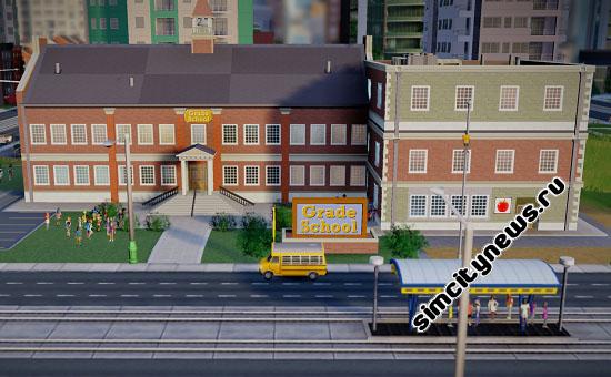 Начальная школа SimCity