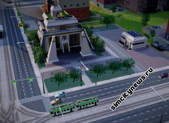 Особняк Максис в SimCity