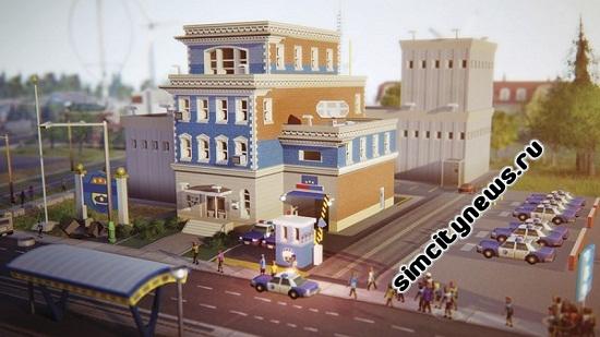 Отделение полиции Simcity