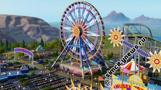 Парки аттракционов SimCity
