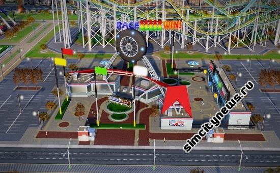 Парки аттракционов в SimCity