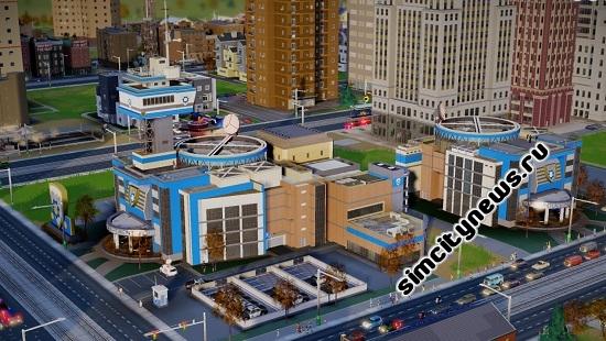 Полицейский участок в SimCity 5