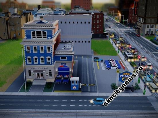 Полиция SimCity
