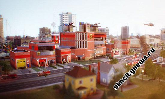 Пожарная часть SimCity
