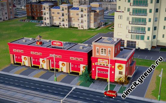 Пожарное депо SimCity