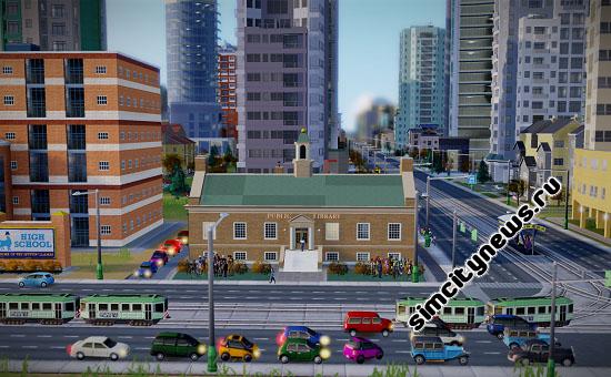 Публичная библиотека SimCity
