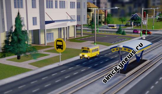 Школьный автобус SimCity