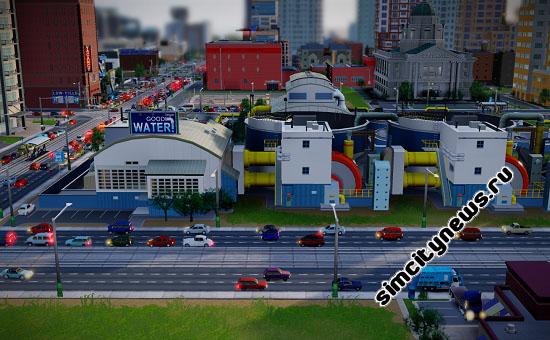 SimCity 5 Водонасосная станция