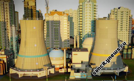 SimCity атомная энергия