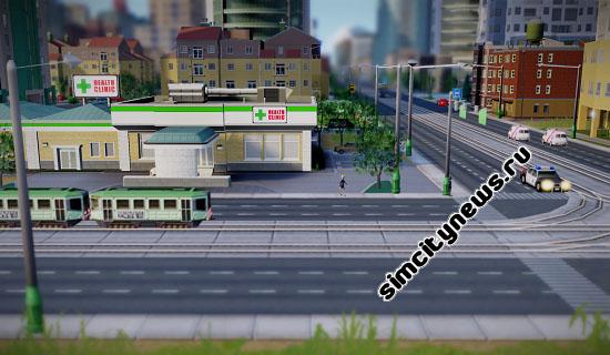 SimCity клиника
