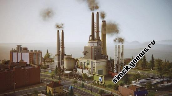 Simcity 2013 нефтяная электростанция