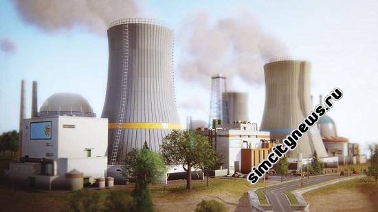 Simcity 5 атомная электростанция