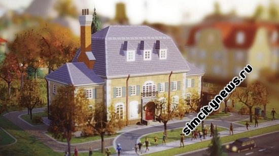 Simcity 5 дом мэра
