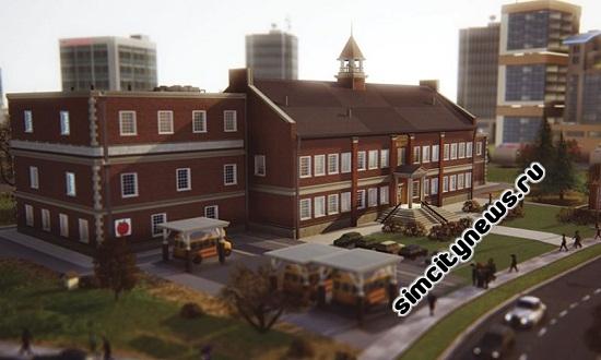 Simcity 5 начальная школа