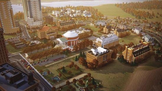 Simcity 5 университет