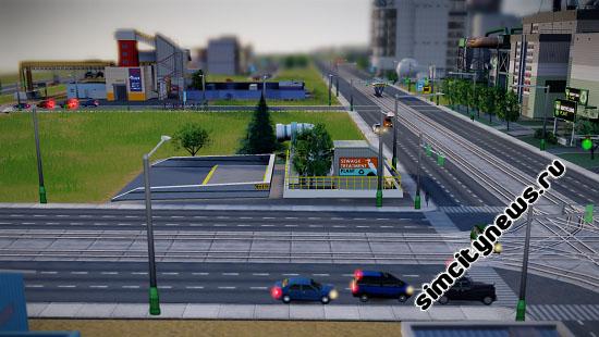 Слив сточных вод SimCity