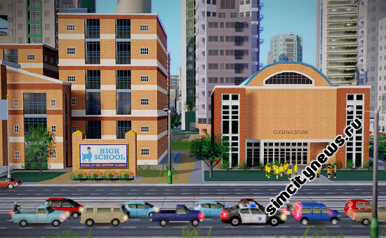 Средняя школа в SimCity 5