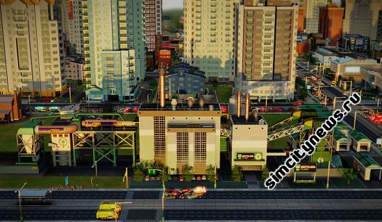 Центр по переработке отходов SimCity