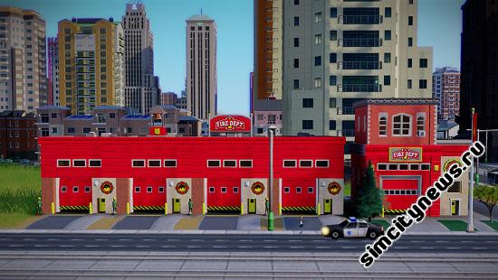 Тушение пожара в SimCity