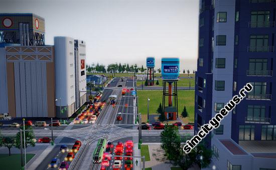 Водонапорные башни в городе
