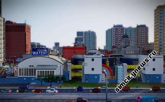 Водонасосная станция SimCity