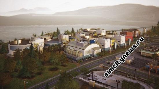 Водонасосная станция в SimCity 5