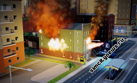 Вубот поджигает дом