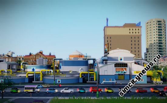 Завод по переработке сточных вод SimCity