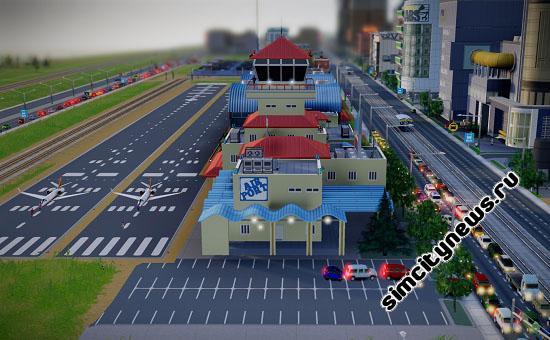 Аэропорт Simcity 5