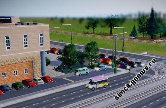 Автобус Симсити