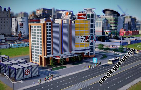 Автобусный терминал SimCity