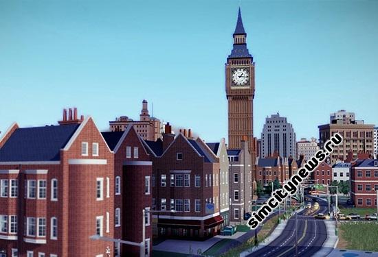 Дополнение SimCity европейский город