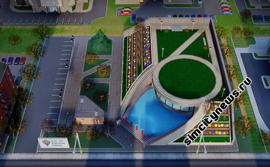 Городской парк шаров