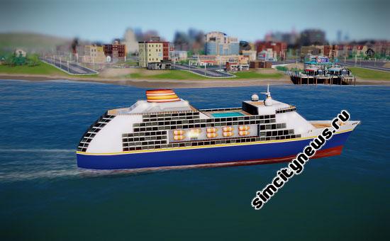 Круизный лайнер Simcity
