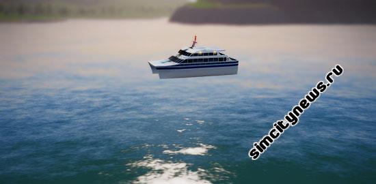 Лодка SimCity