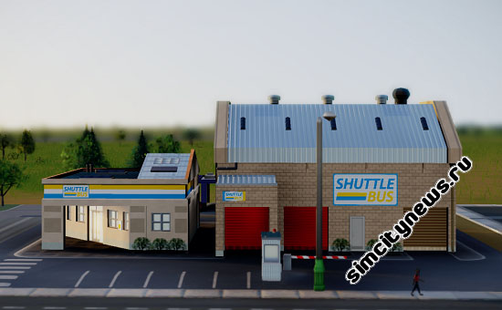 Маршрутный парк SimCity