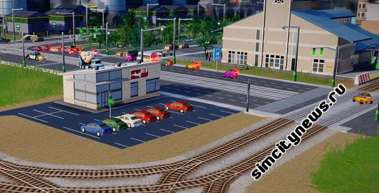 Машина-автобус Simcity