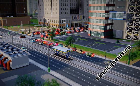 Остановка для трамвая