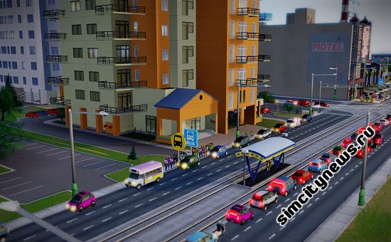 Остановка трамвая