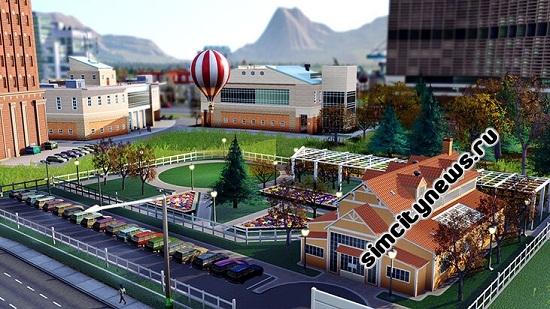 Парк с воздушными шарами Симсити