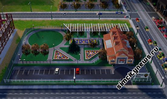 Парк воздушных шаров SimCity