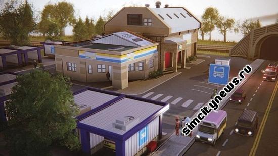 Simcity 5 Маршрутный парк