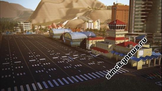 Simcity 5 аэропорт
