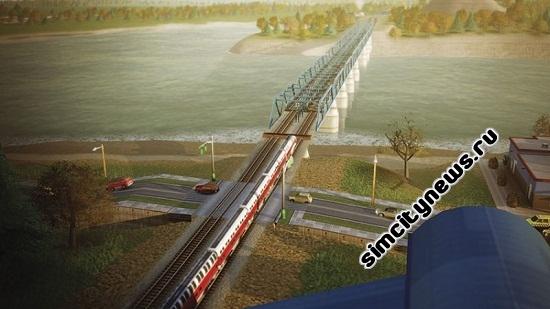 Simcity 5 железнодорожные пути