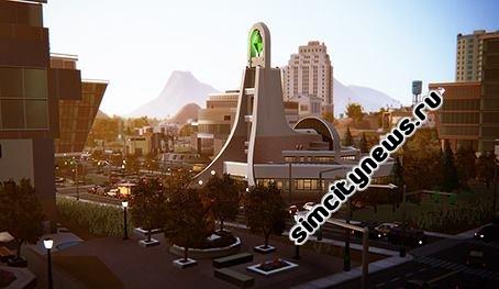 Современный храм SimCity