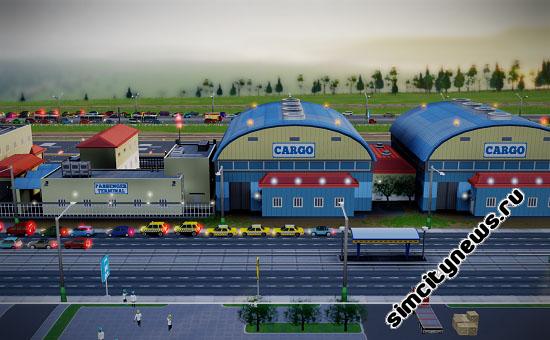 Терминалы аэропорта в SimCity